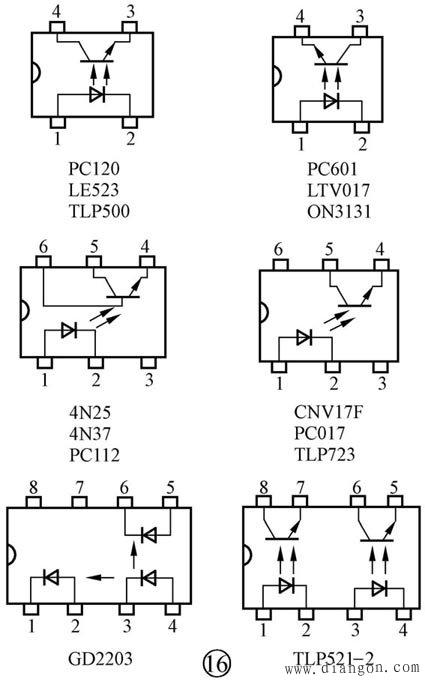 光电二极管-光电三极管-光耦识别与检测方法图解