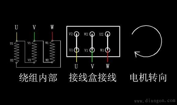 电机星角启动电路图_星三角启动原理图_星角启动实物接线图