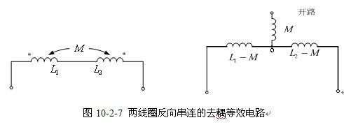等效电路】图10-2-4所示去耦,去耦前后,各条支路电流相同,各结点之间
