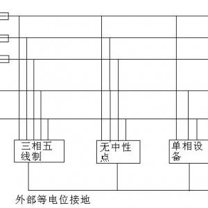三相五线制接线图