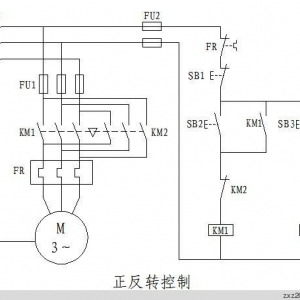三菱plc电动机正反转控制程序编程实例
