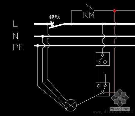 双联开关接线图_双联开关接线图_双联双控开关接线图