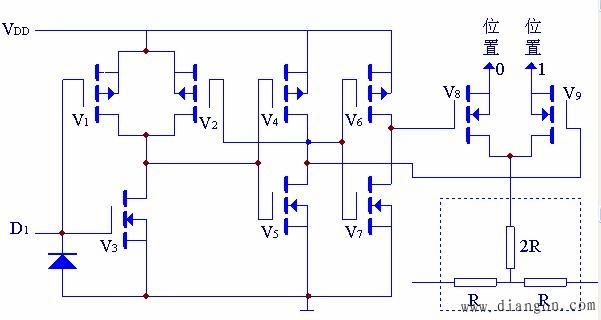 coms电子模拟开关电路 - 电子技术_电工学习网
