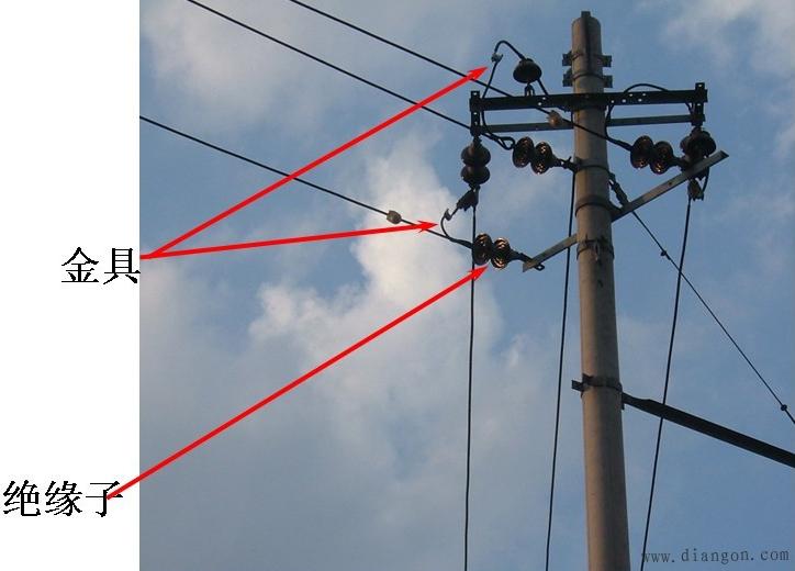 架空线路的结构 - 电力配电知识_电工学习网