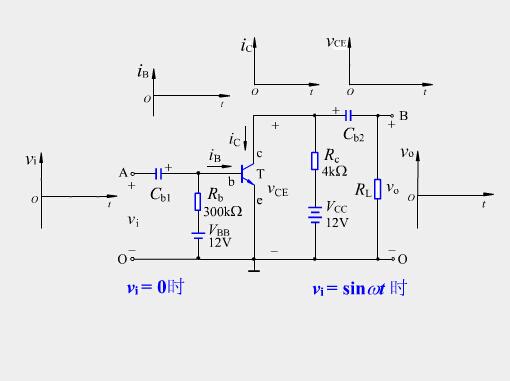 共射极基本放大电路的工作原理
