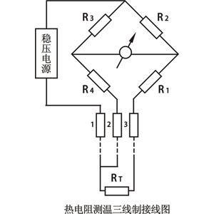 热电阻测温三线制接线原理图解