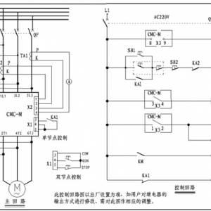 电机软启动器的主接线图和接线方式