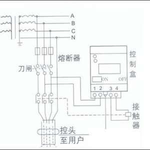 漏电保护器空开怎么接线
