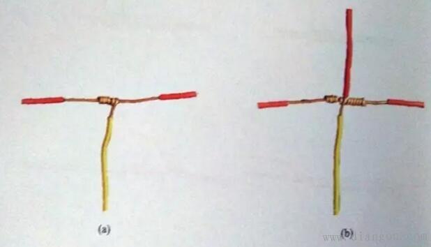 装修中电工电线接线的接法图解图片