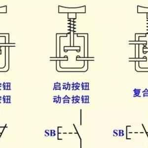 按钮开关的结构原理与电气符号