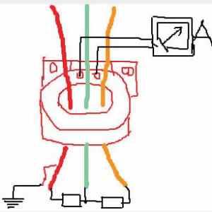 三相三线漏电保护器工作原理
