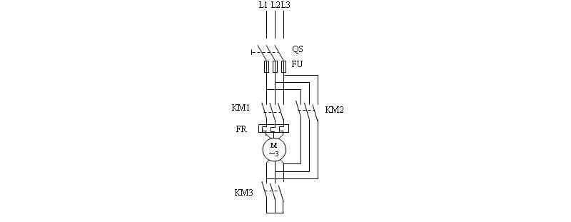 plc控制电机星三角启动梯形图