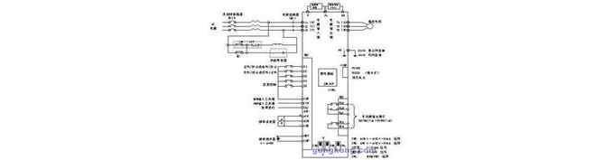变频器控制接线图