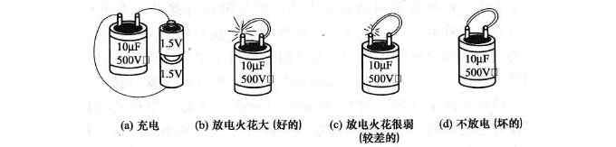 如何用充放电法判断电容器的好坏