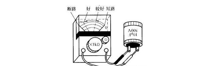 220V单相电机电容器好坏的简易判断方法