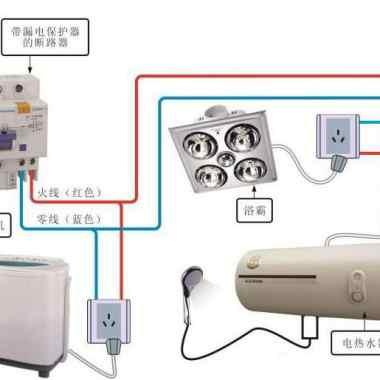 卫生间供电用电线路的检修方法