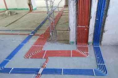 室內水電施工圖片