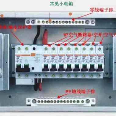 家里配电箱漏保和空开该如何安装?