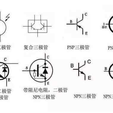 三极管的电路符号