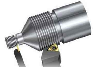 数控车削螺纹中如何正确装刀及对刀