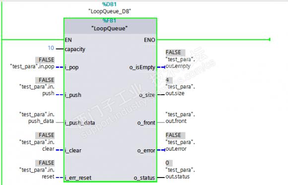 SCL语言实现的FIFO队列功能块(基于循环数组)
