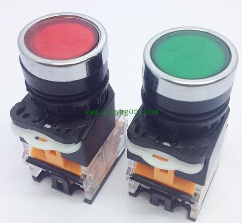 电气控制电路中启动按钮和停止按钮的特点