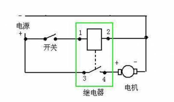 汽車繼電器的接線方法