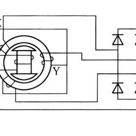 交流发电机的工作原理图解