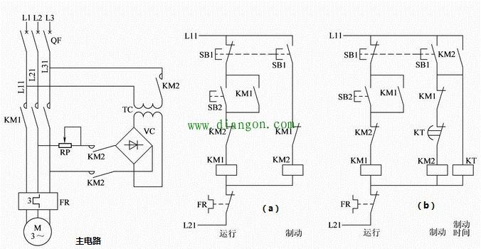 电动机 69 查看内容   控制电路(a):手动控制:停车时按下sb1按钮