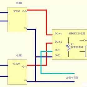 如何检测西门子SITOP冗余电源