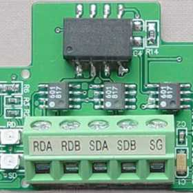 PLC的RS485通信口设计