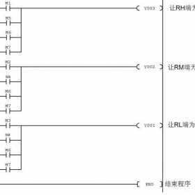 PLC控制变频器驱动电动机多档转速运行的电路、程序及参数设置