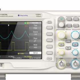 示波器测量交流电压的方法和注意事项