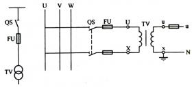 电压互感器接线方法图解