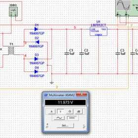 12伏直流稳压电源制作方法图解