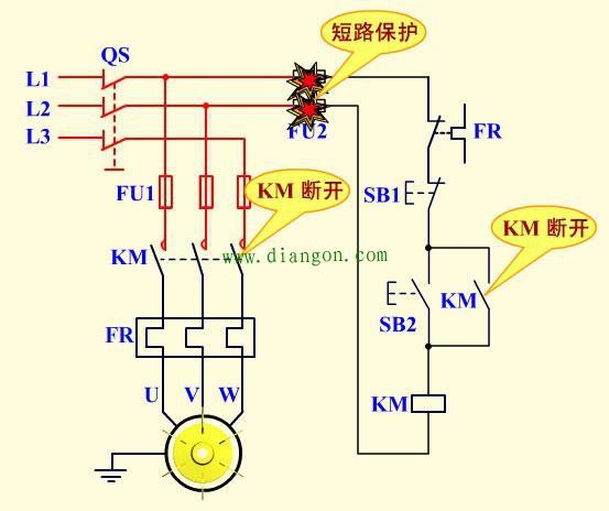 69 电工技术 69 电动机 69 查看内容   失压(零压)保护是指