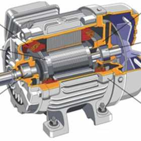 380V电机和6KV电机结构区别