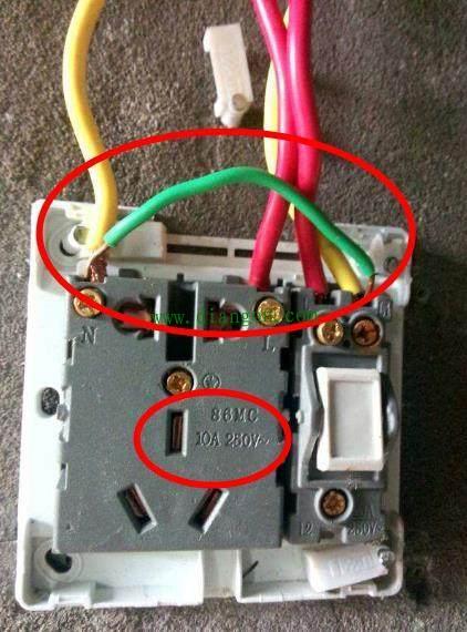 厨房用4平方电线如何接五孔10a插座?看看老电工是怎么