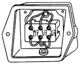 电动机三相绕组的星形接线法和三角形接线法