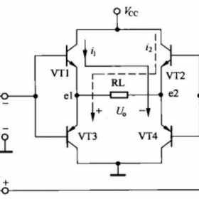 BTL功率放大器识图
