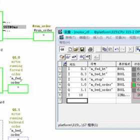 如何用西门子PLC控制电机的正反转运行