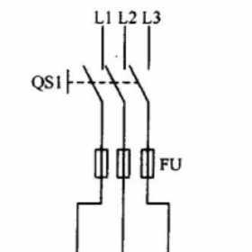 电动机手动正反转控制线路原理图解