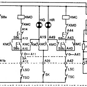 阀门电动装置控制箱电气原理图内部检查及检修