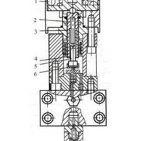 高压断路器操动机构安全阀的结构原理及工作过程