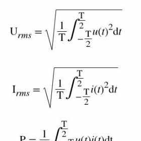 功率分析仪的有功功率测量基本原理