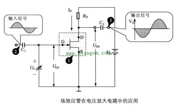 场效应管在电压放大电路中的应用
