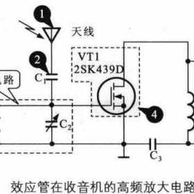 场效应管在收音机的高频放大电路中的应用