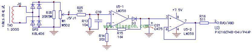 变频器_软启动器 69 软启动器 69 查看内容   顺了下电流检测电路
