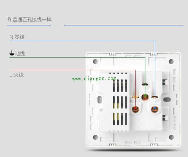 家用插座怎么接线图解