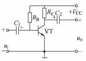 基本电压放大器电路图原理